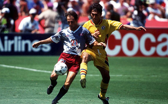FUSSBALL: WM 1994/WORLD CUP 1994 Los Angeles, 26.06.94