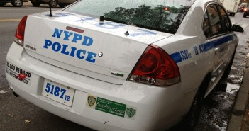 NYPD Police Car on 5th Avenue