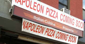 Coming Soon to 412 5th Ave: 'Napoleon' Pizza cropped