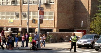 Crossing Guard at PS 321 on 7th Avenue