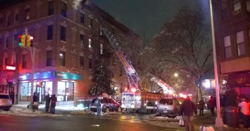 Fire at 438 4th St by AlfredAstort on Twitter