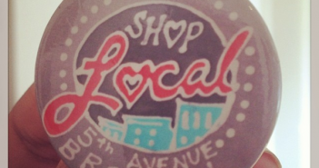 Shop Local 5th Ave Button via groundfloorbk on Instagram